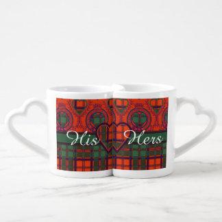 Conley clan Plaid Scottish kilt tartan Lovers Mug Sets
