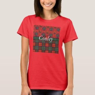 Conley clan Plaid Scottish kilt tartan T-Shirt