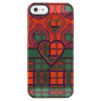 Conley clan Plaid Scottish kilt tartan Uncommon Clearly™ Deflector iPhone 5 Case