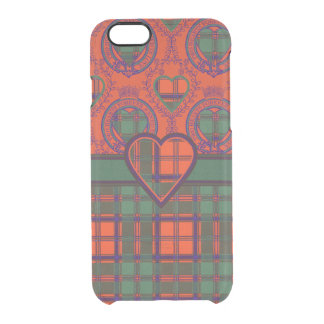 Conley clan Plaid Scottish kilt tartan Uncommon Clearly™ Deflector iPhone 6 Case