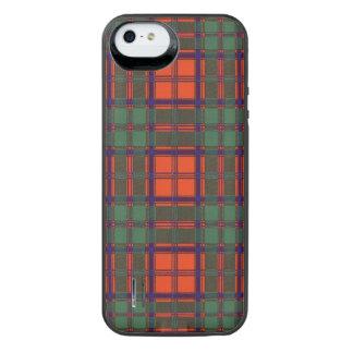 Conley clan Plaid Scottish kilt tartan Uncommon Power Gallery™ iPhone 5 Battery Case