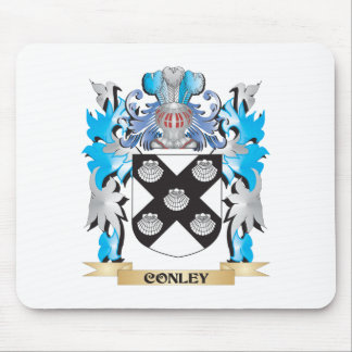 Conley Coat of Arms - Family Crest Mouse Pad