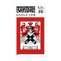 Conley Family Crest Postage Stamps