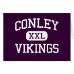 Conley - Vikings - High - Greenville Greeting Card
