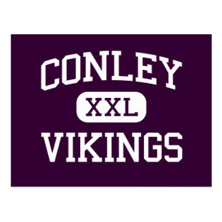 Conley - Vikings - High - Greenville Postcard