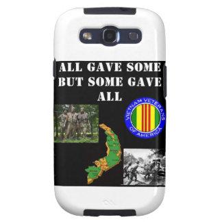 Conmemoración de Vietnam Galaxy S3 Protectores