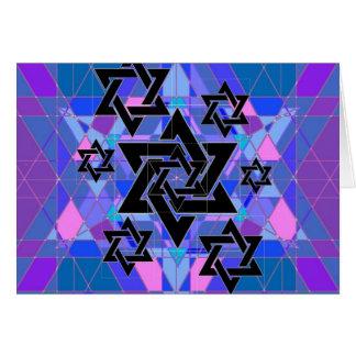 Conmemoración del holocausto tarjeta de felicitación