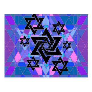 Conmemoración del holocausto tarjeta postal