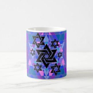 Conmemoración del holocausto taza básica blanca