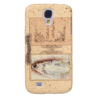 Conmemoración poner crema del boda de Victoriana Funda Para Galaxy S4