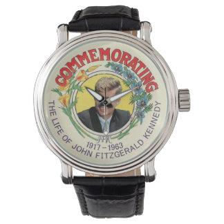 Conmemorar a Kennedy Relojes De Mano
