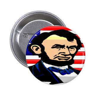 Conmemorativo bicentenario de Abraham Lincoln Pin Redondo De 2 Pulgadas