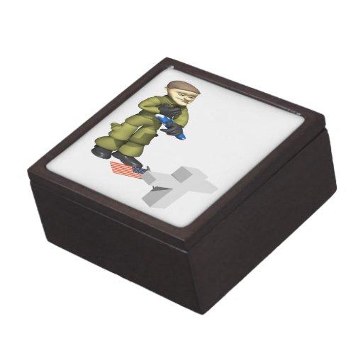 Conmemorativo Caja De Recuerdo De Calidad