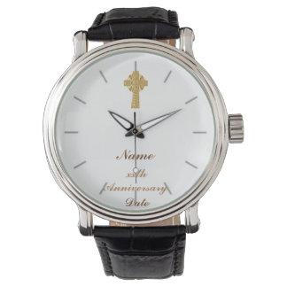 Conmemorativo personalizada regalo del sacerdote relojes