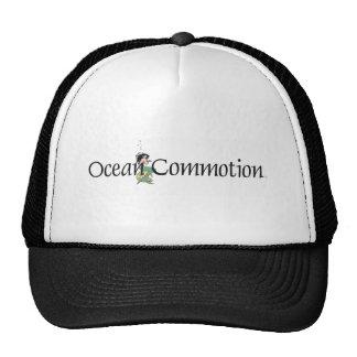 Conmoción del océano de la CAMISETA Gorras