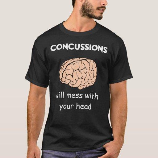 Conmociones cerebrales (v2) playera