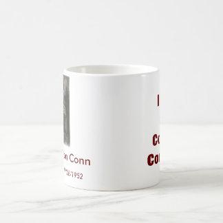 Conn Cousins Classic White Coffee Mug