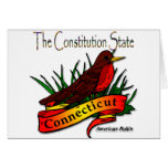 Conn Robin The Constitution State Card