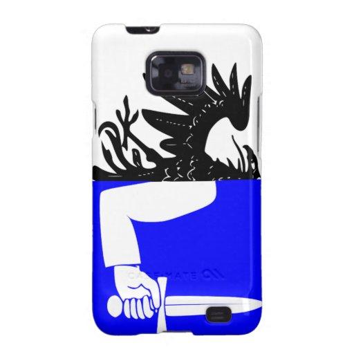 Connacht (Ireland) Flag Samsung Galaxy S2 Covers