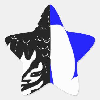 Connacht (Ireland) Flag Star Sticker