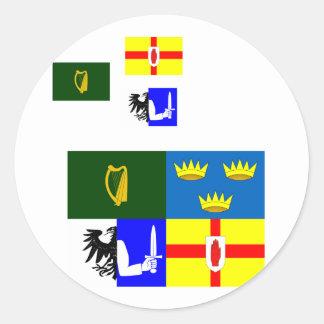 Connacht, Ireland Stickers