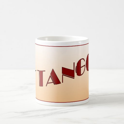 conncection cúbico del tango de la taza
