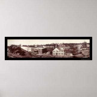 Conneaut, OH Photo 1901 Poster