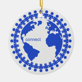 Connect Christmas Ornament