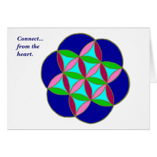 """""""Connect"""" Note Card"""