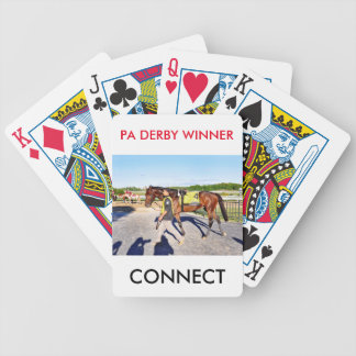 Connect - Pennsylvania Derby Winner Bicycle Playing Cards