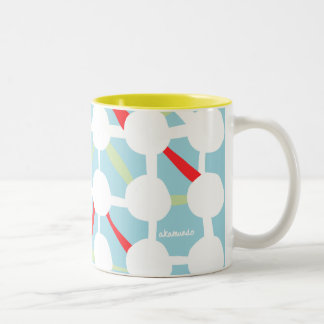 Connect the Dots Two-Tone Coffee Mug
