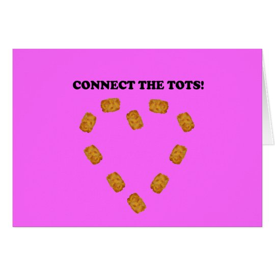Connect The Tots Card