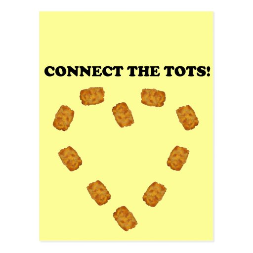Connect The Tots Postcard