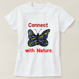 """""""Connect with Nature"""" Women's T Shirt"""