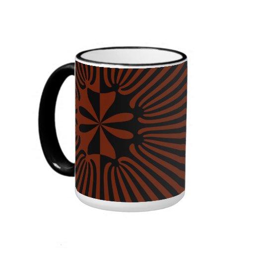 Connected Fractal Ringer Coffee Mug