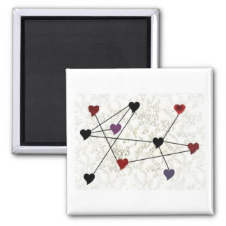 Connected Hearts Magnet
