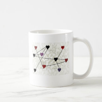 Connected Hearts Coffee Mugs