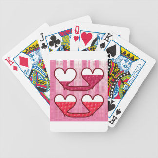 Connected Hearts Vector Bicycle Playing Cards