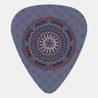Connected Independence Day Guitar Pick