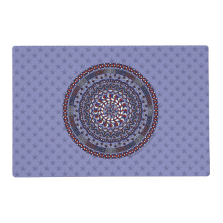 Connected Independence Day Laminated Place Mat