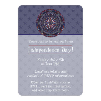 Connected Independence Day Party Invitation