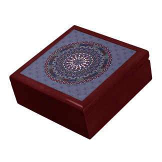 Connected Independence Day Tile Box