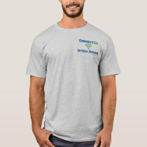ConnectED Physical Educator- Small Upper Left T-Shirt