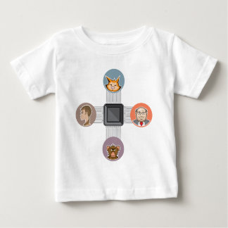 Connected to major processor baby T-Shirt