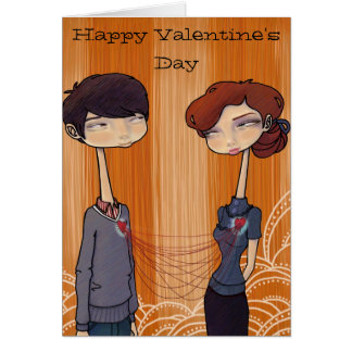 Connected - Valentine's Day Greeting Card