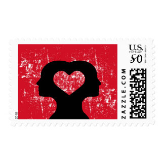Connected with love postage
