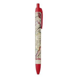 Connecticut 11 black ink pen
