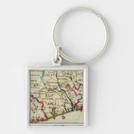 Connecticut 11 keychain