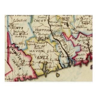Connecticut 11 tarjetas postales