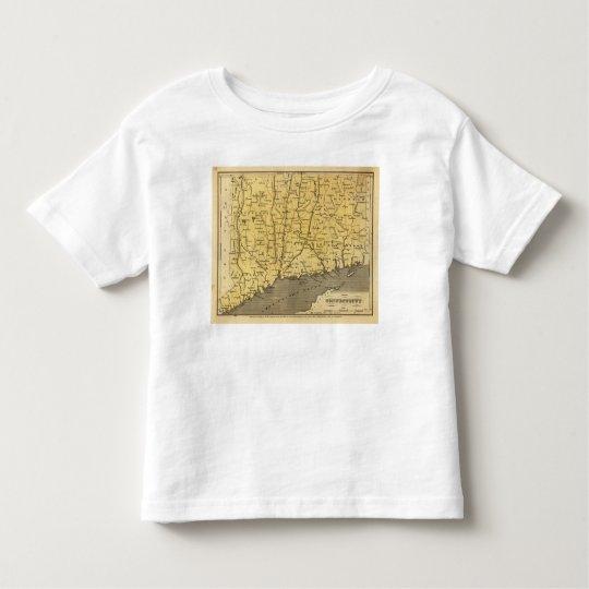Connecticut 4 toddler t-shirt